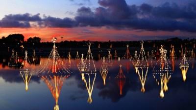 Watery Wonderful: Newport Dunes Lighting