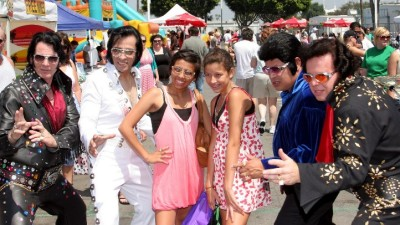 Elvis Flash Mob