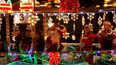 The 103rd Newport Beach Christmas Boat Parade