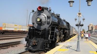 Steaming from Los Angeles to San Bernardino