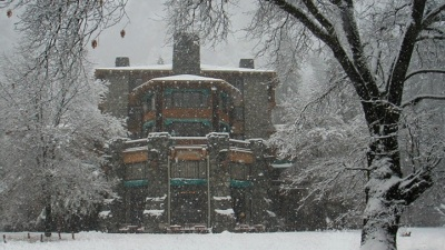 Fine Dining, Snowflakes, and a Famous Lodge