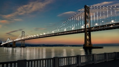 Bay Bridge Goes Mega LED