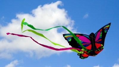 Seal Beach Sunday: Pretty Kites and Ramen Burgers