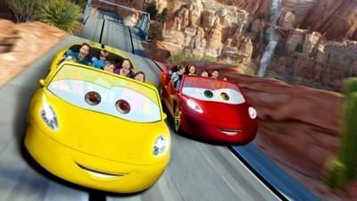 On Approach: Cars Land