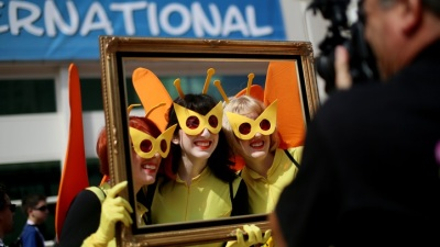 Bee There: Comic-Con International