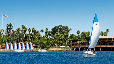 Dock & Dine at San Diego's Paradise Point
