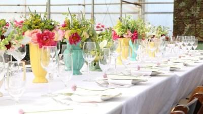 Dine Inside a Carpinteria Greenhouse