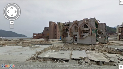 Google Street View Covers Japanese Tsunami