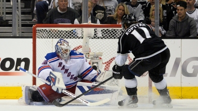 Kings Beat Rangers 5-4 in Double OT