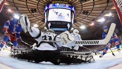 Kings Shut Out Rangers 3-0 in Game 3