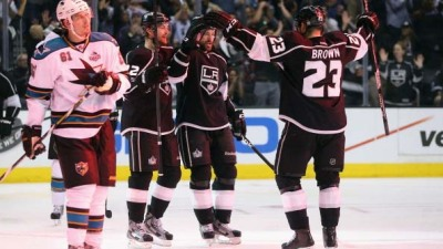 LA Kings Advance With 2-1 Win Over Sharks