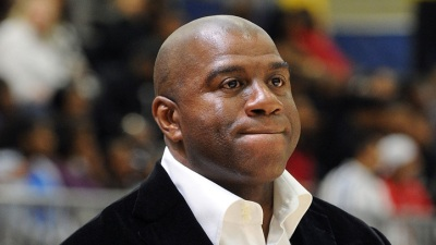 Dodgers' Magic Johnson Responds to Negative Comments