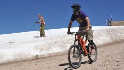 Sierra Springtime: Ski, Then Bike, Then Golf, Then Ski Again