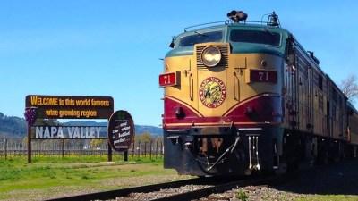 Happy 25 Years, Napa Valley Wine Train