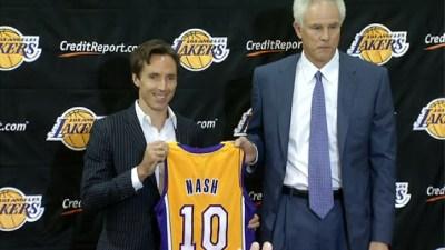 Lakers GM Talks Kobe, Surgery and Steve Nash