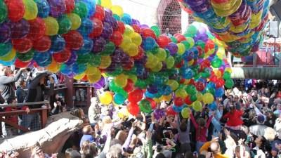 OC Balloon Drop: Noon Year's Eve