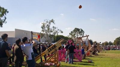 Squash in Flight: Fullerton Pumpkin Launch