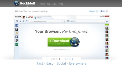 Social Browser Attracts FB Investors