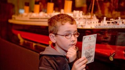 Titanic Exhibit Alights in Buena Park