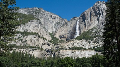 May at Yosemite: Mondo Waterfall Wow