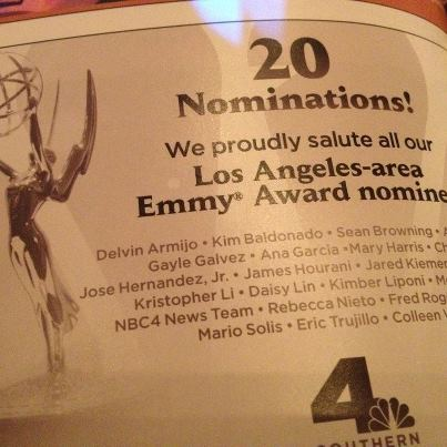 NBC4 Sweeps Local Emmys for Best Newscast