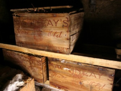 Crates of whiskey and brandy discovered in Antarctica
