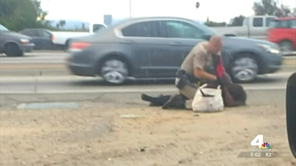 Woman Punched by CHP Officer in 2014 in Custody