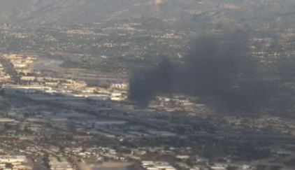 Explosions Reported in Large Anaheim Fire