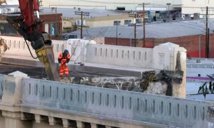 6th Street Bridge Demolition 'on Schedule'