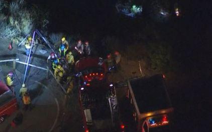 Two Children Die in Ravine Crash