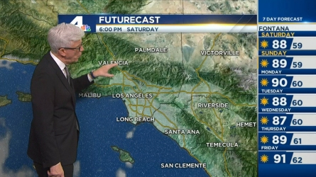 Expect mostly sunny skies with pleasant temps this Independence Day holiday weekend. NBC4's Fritz Coleman has the forecast for Friday, July 1, 2016.