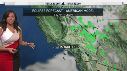 <p>It's another below average, but sunny, day in SoCal thanks to a morning marine layer! Let's cross our fingers that the layer will clear by Monday morning so we can see the solar eclipse. Don't forget o use special glasses during the event! Shanna Mendiola has your First Alert Forecast for Friday, Aug. 18, 2017.</p><p>&nbsp;</p>