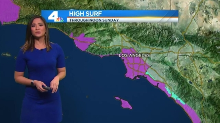 Temperatures will cool slightly today but remain above average due to a passing storm to the north. Shanna Mendiola has the forecast for Today in LA on Saturday, Feb. 13, 2016.