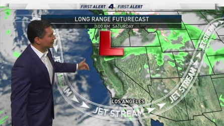 <p>Fall starts with the possibility of three days of rain later this week. Anthony Yanez has the forecast for Monday Sept. 23, 2019. </p>