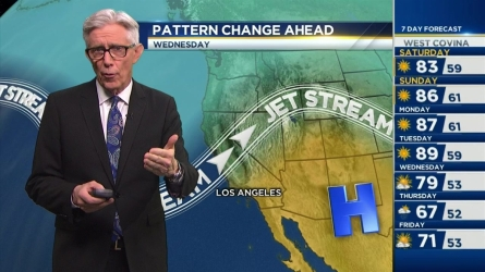 It'll continue to be hot in Southern California. Fritz Coleman has the forecast for the NBC4 News at 6 p.m. on Friday, Feb. 12, 2016.