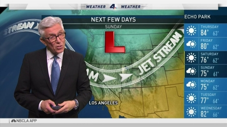 Residents can expect cooling temps for Labor Day. Fritz Coleman has the forecast for the NBC4 News on Wednesday, Aug. 31, 2016.