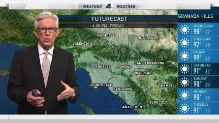 The heat continues to bake Southern California. Fritz Coleman has the forecast for the NBC4 News at 4 p.m. on Tuesday, July 26, 2016.