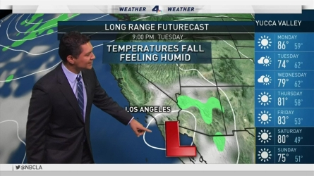 Hot, dry and windy conditions are expected. Anthony Yanez reports for the NBC4 News on Sunday, Sept. 25, 2016.