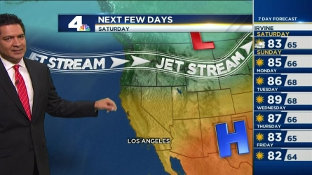 It will be scorching hot again this weekend, with heat advisories in effect. Anthony Yanez has the forecast for NBC4 News on June 24, 2016.