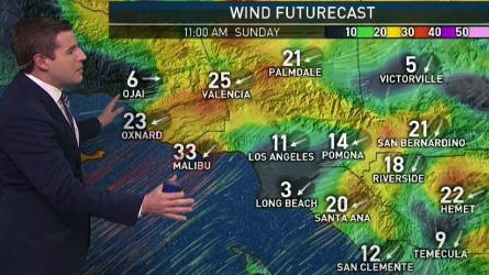 <p>A red flag warning has been issued through Sunday. David Biggar has your First Alert forecast for Saturday, Dec. 16, 2017.</p>