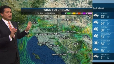 The fierce Santa Ana winds SoCal has been experiencing won't be around for much longer. Anthony Yanez has your First Alert forecast for Saturday, Dec. 3, 2016.