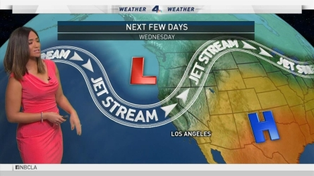 A warming trend will begin on Sunday and is expected to last through Wednesday. Shanna Mendiola reports for the NBC4 News at 6 on Saturday, Aug. 27, 2016.