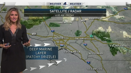 We'll enjoy a break from the intense heat for a couple of days, with a deepening marine layer and below-average temps. Crystal Egger has the forecast for Friday, Aug. 26, 2016.
