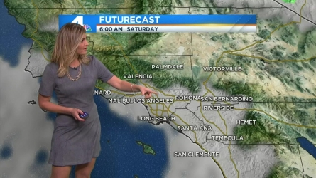 Weekend rain is headed to some parts of Southern California. Crystal Egger has details for Friday April 29, 2016.