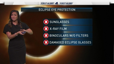 <p>Expect morning clouds to clear in time for the eclipse. Shanna Mendiola has the forecast for Monday Aug. 21, 2017.&nbsp;</p>