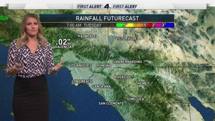 <p>It'll be cool and cloudy with isolated showers. Crystal Egger has your First Alert Forecast on Tuesday, Feb. 21, 2017.</p>