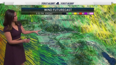 <p>Strong winds will return this afternoon. Shanna Mendiola has your First Alert Forecast on Thursday, March 30, 2017.</p>