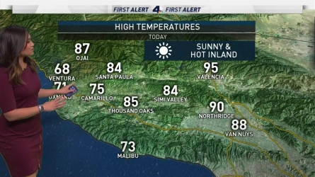 <p>The heat will peak in the Inland Empire. Shanna Mendiola has your First Alert Forecast on Tuesday, May 23, 2017.</p>