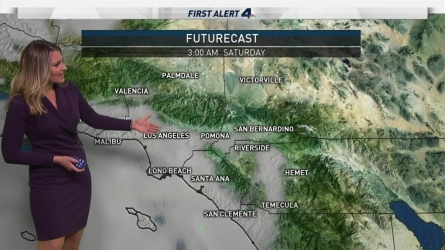 Spotty showers are possible throughout the weekend, but the measurable rain will stay north. Crystal Egger has your First Alert Forecast on Friday, Dec. 9, 2016.