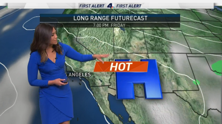 <p>Some communities are still contending with triple-digit heat today, but most will feel a slight cooldown. Shanna Mendiola has your First Alert Forecast on Friday, June 23, 2017.</p>